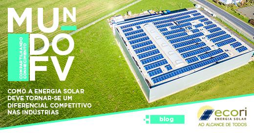 Imagem Como a energia solar deve tornar-se um diferencial competitivo nas indústrias
